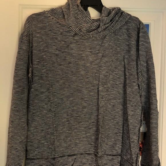 J. Crew Hooded Long Sleeve Shirt